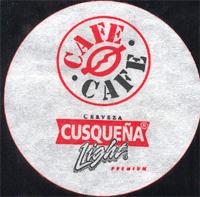 Beer coaster cusquena-7