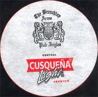 Beer coaster cusquena-8