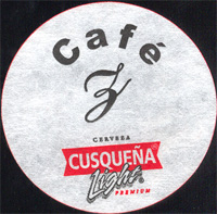 Beer coaster cusquena-9