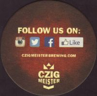 Beer coaster czig-meister-1-zadek-small
