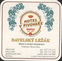 Beer coaster davle-1