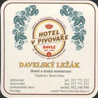 Pivní tácek davle-2