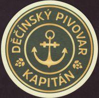 Pivní tácek decinsky-pivovar-kapitan-1