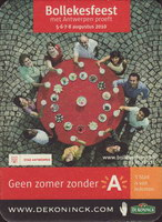Beer coaster dekoninck-196-small