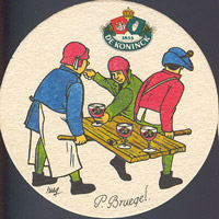 Beer coaster dekoninck-71