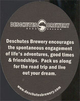 Beer coaster deschutes-4-zadek