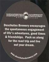 Pivní tácek deschutes-4-zadek