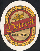 Beer coaster detroit-beer-1