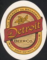 Beer coaster detroit-beer-1