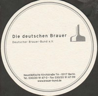 Beer coaster deutscher-brauer-bund-1