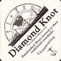 Beer coaster diamond-knot-1-zadek