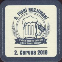 Beer coaster dobruska-11-zadek-small