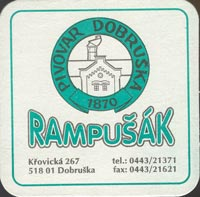 Beer coaster dobruska-3