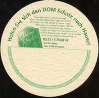 Pivní tácek dom-kolsch-2-zadek