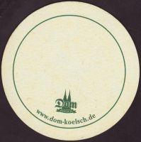 Pivní tácek dom-kolsch-25-zadek-small