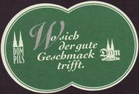 Pivní tácek dom-kolsch-26-small