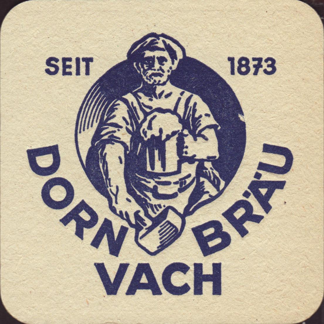 Brauerei Dorn Brau Furth Vach Nummer Des