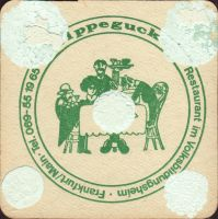 Beer coaster dortmunder-union-45-zadek