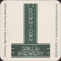 Beer coaster downtown-grill-1-small