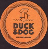 Beer coaster duck-and-dog-3-small
