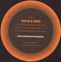 Beer coaster duck-and-dog-3-zadek-small