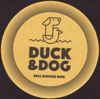 Beer coaster duck-and-dog-4-small