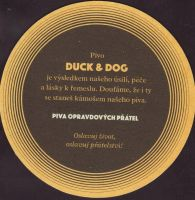 Beer coaster duck-and-dog-4-zadek-small