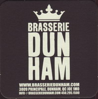 Beer coaster dunham-2-small
