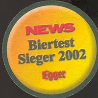 Beer coaster egger-bier-3-zadek