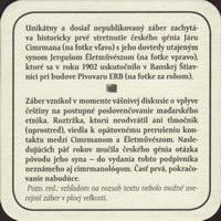 Pivní tácek erb-2-zadek-small