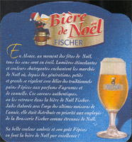 Pivní tácek fischer-11-zadek