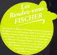 Pivní tácek fischer-60-zadek