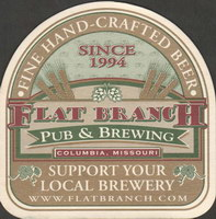 Beer coaster flat-branch-1-small