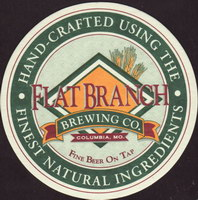 Beer coaster flat-branch-2-small
