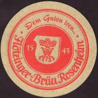 Beer coaster flotzinger-brau-10