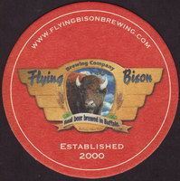 Beer coaster flying-bison-1-small