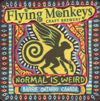 Beer coaster flying-monkeys-3