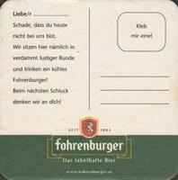 Pivní tácek fohrenburger-13-zadek-small