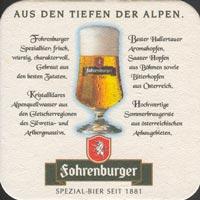 Pivní tácek fohrenburger-2