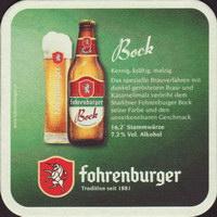 Pivní tácek fohrenburger-21-zadek-small