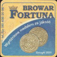 Pivní tácek fortuna-21-zadek-small