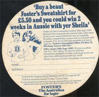 Beer coaster fosters-13-zadek