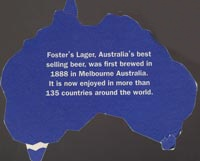 Beer coaster fosters-2-zadek