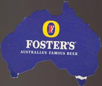 Beer coaster fosters-2