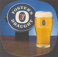 Beer coaster fosters-24