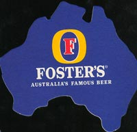 Beer coaster fosters-3-oboje