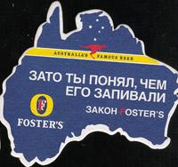 Beer coaster fosters-33-zadek