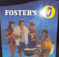 Beer coaster fosters-34