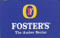 Beer coaster fosters-38