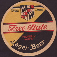 Beer coaster free-state-1-small